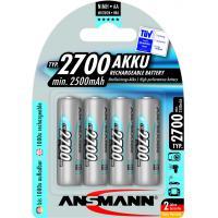 Аккумулятор Ansmann AA 2700mAh * 4 (5030842)