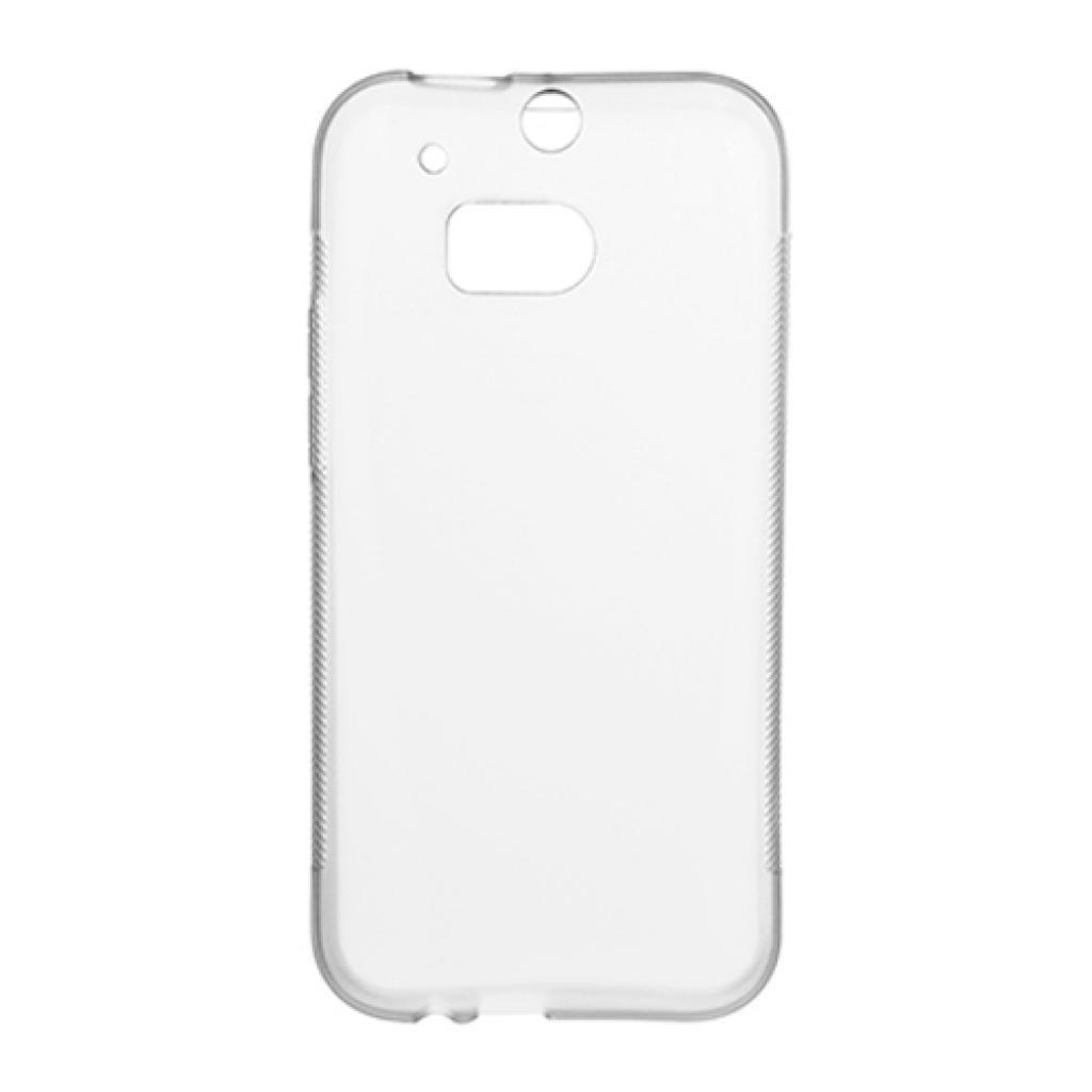 Чехол для моб. телефона для HTC One M8 (White Clear) Elastic PU Drobak (218890)