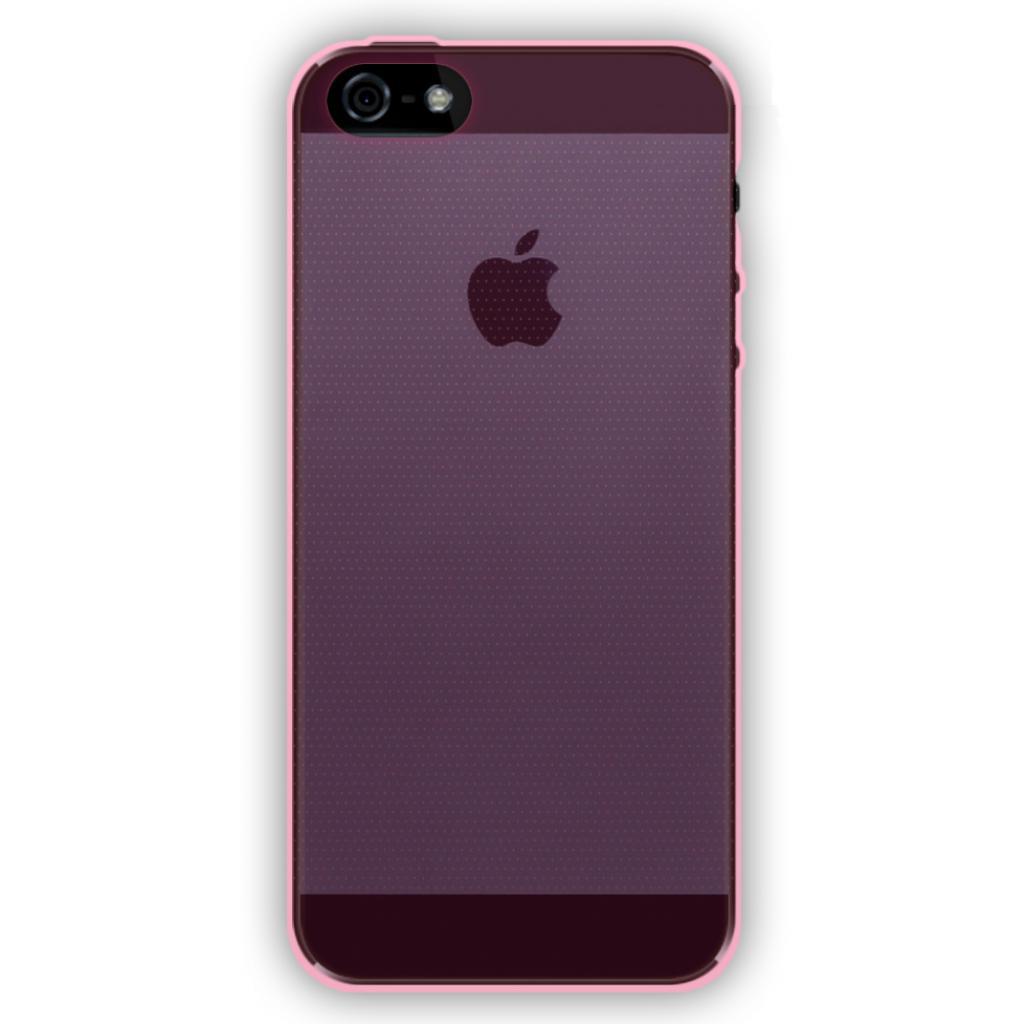 Чехол для моб. телефона GLOBAL для Apple iPhone 5/5S (розовый) (1283126461729)