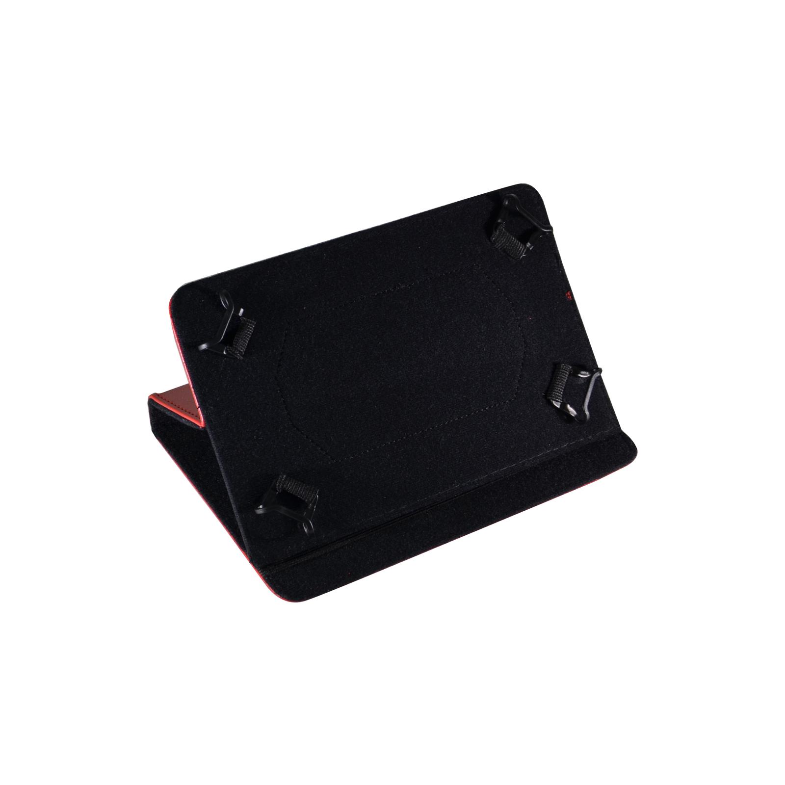 """Чехол для планшета Pro-case 7"""" универсальный case fits up red (UNS-011 r) изображение 3"""