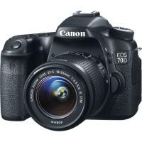 Цифровой фотоаппарат Canon EOS 70D 18-55 IS STM WG KIT (8469B035AA)