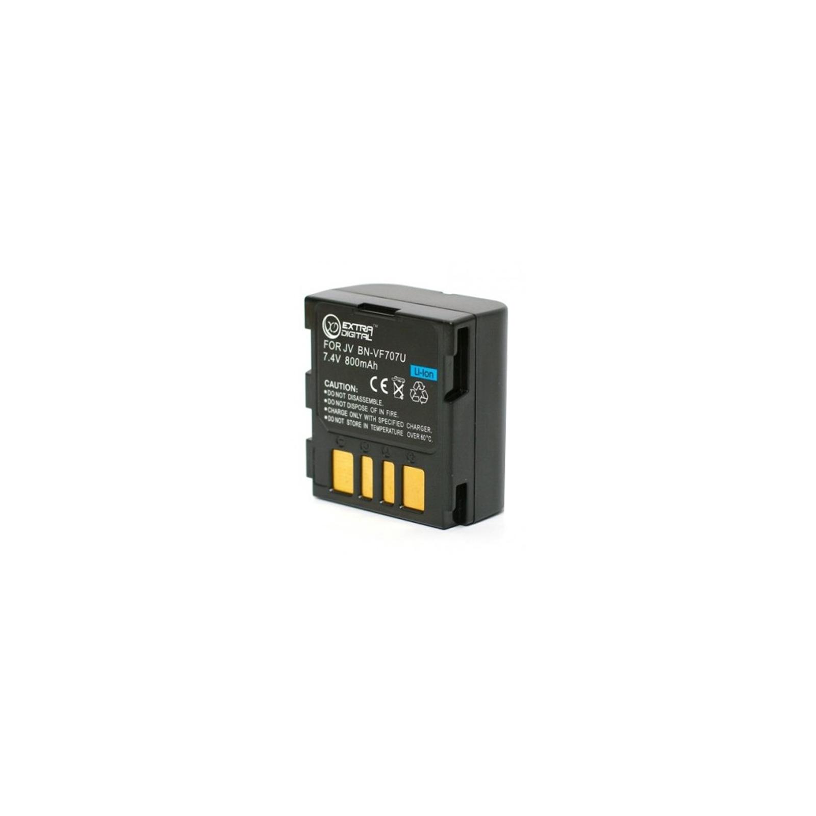 Аккумулятор к фото/видео EXTRADIGITAL JVC BN-VF707U (BDJ2486) изображение 2