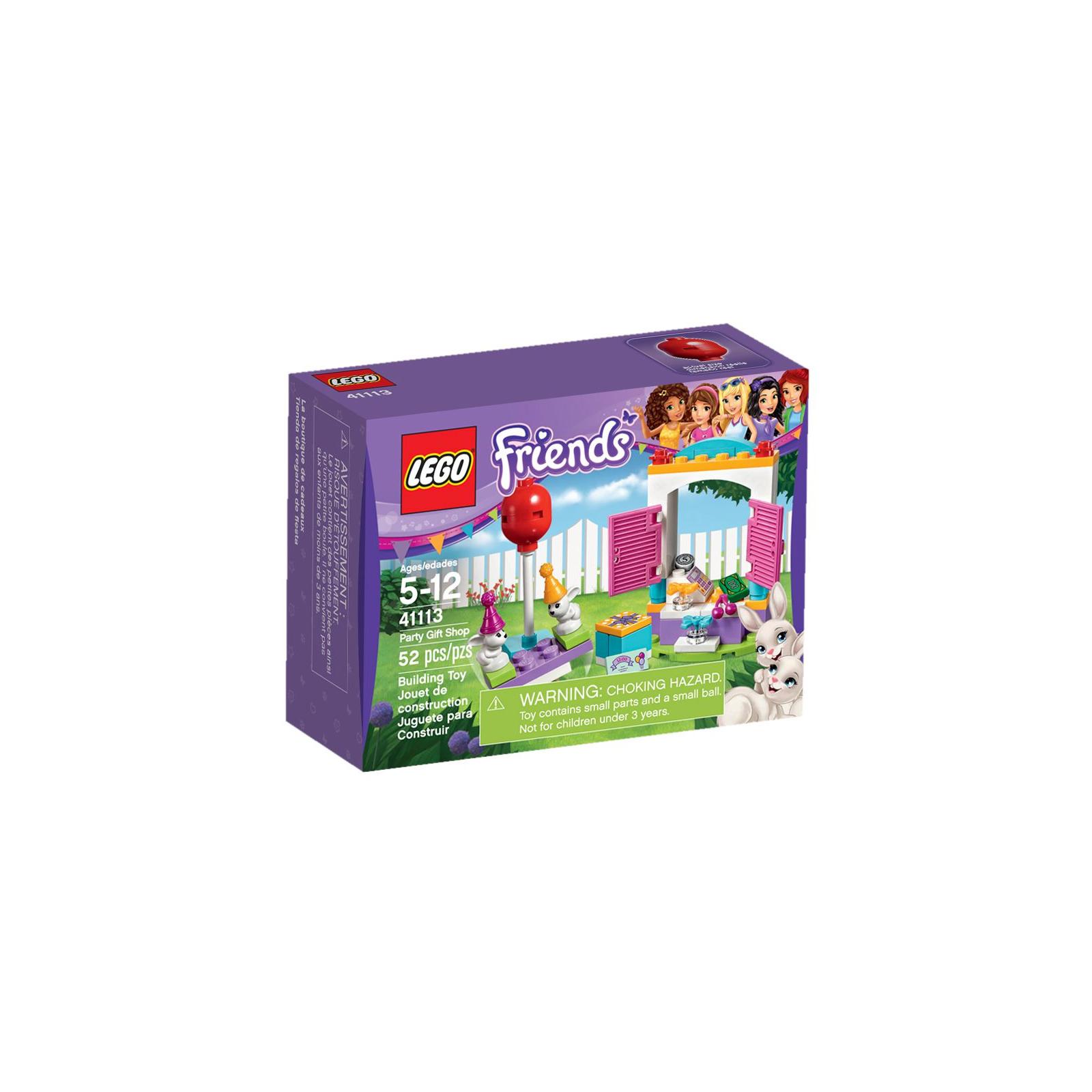 Конструктор LEGO Friends День рождения: магазин подарков (41113)