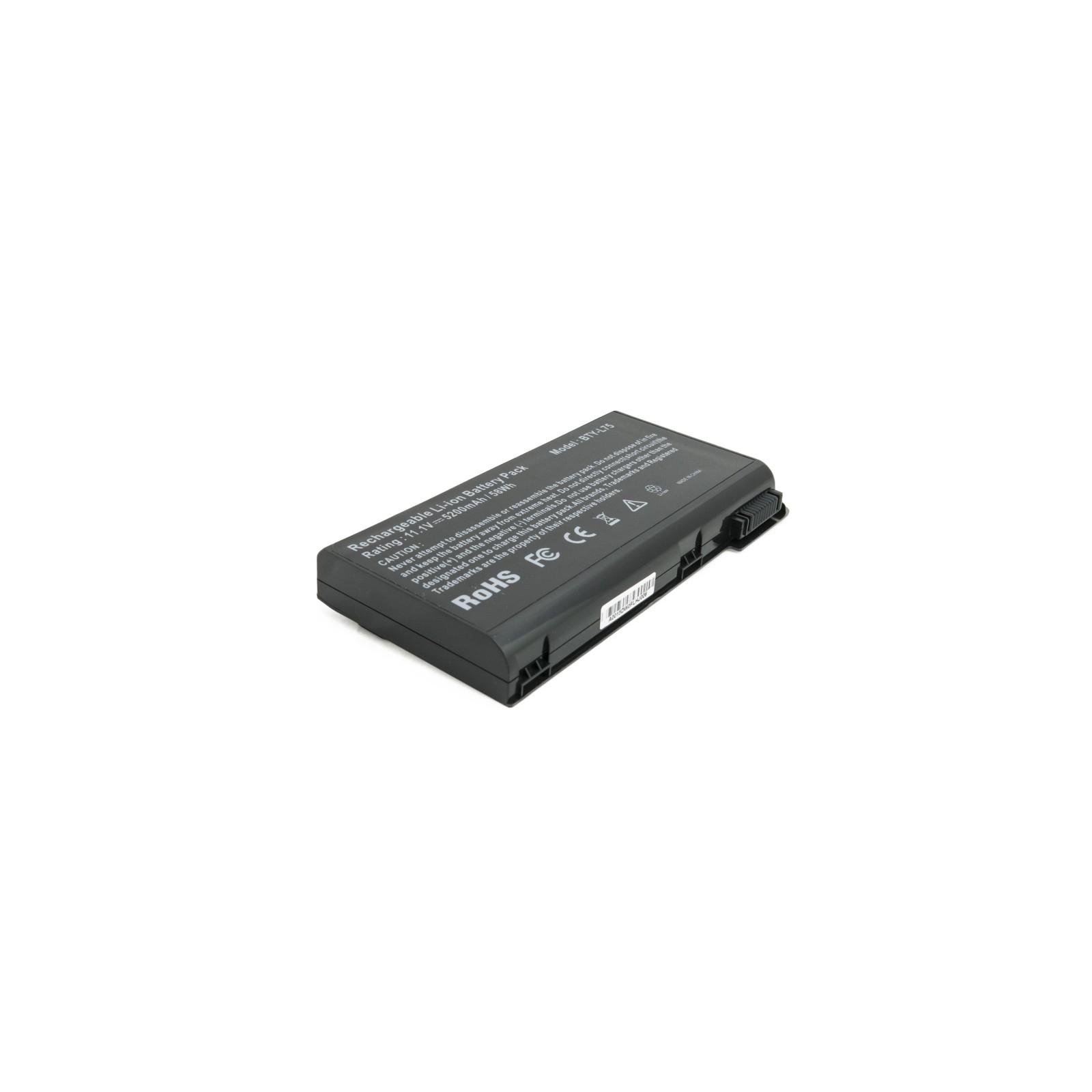 Аккумулятор для ноутбука MSI CX620 (BTY-L75) 5200 mAh EXTRADIGITAL (BNM3956) изображение 2