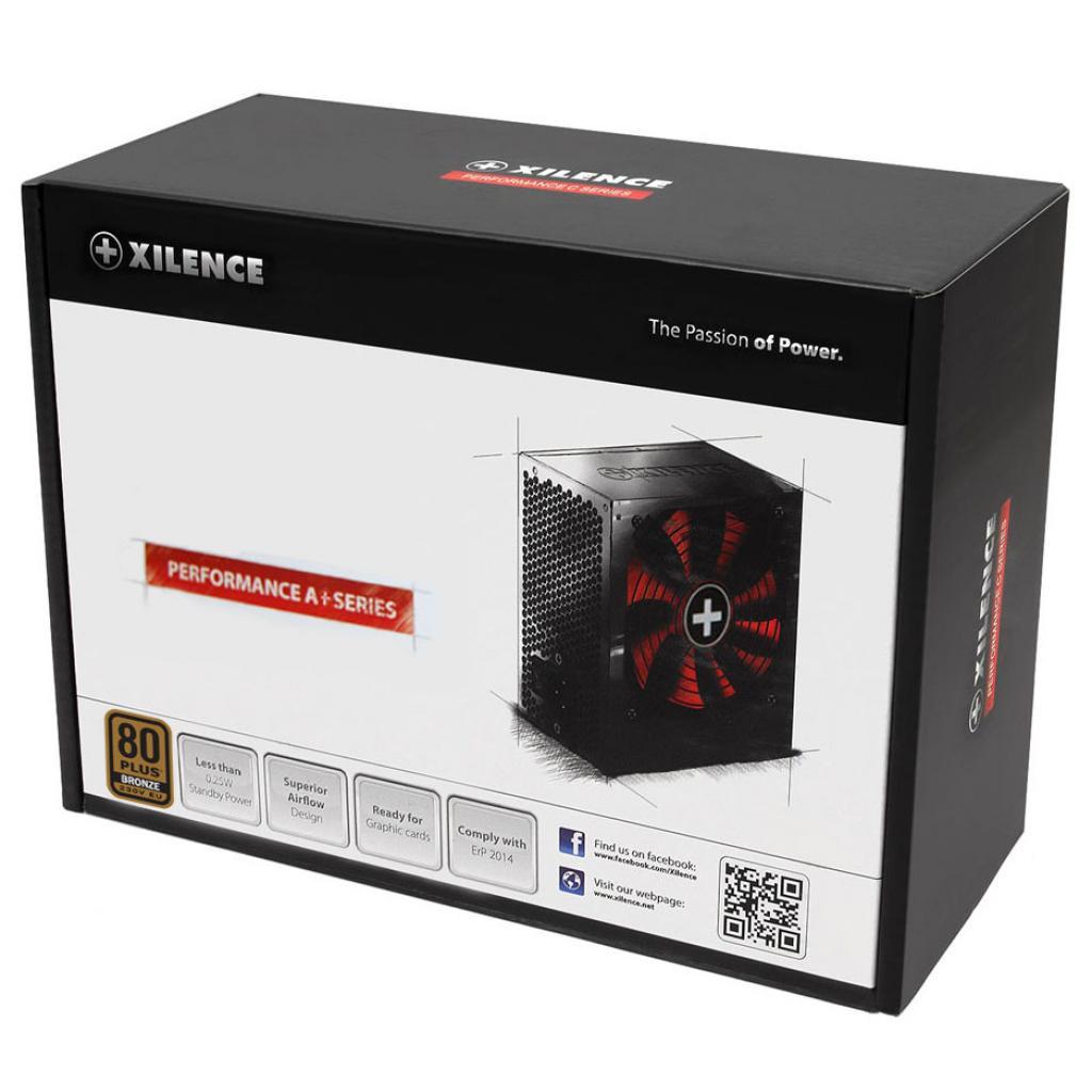 Блок питания Xilence 530W Performance A+ (XP530R8) изображение 2