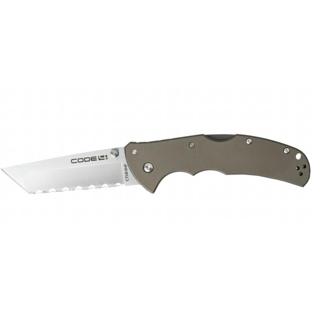 Нож Cold Steel Code 4 Tanto Point Serrated (58TPCTS)