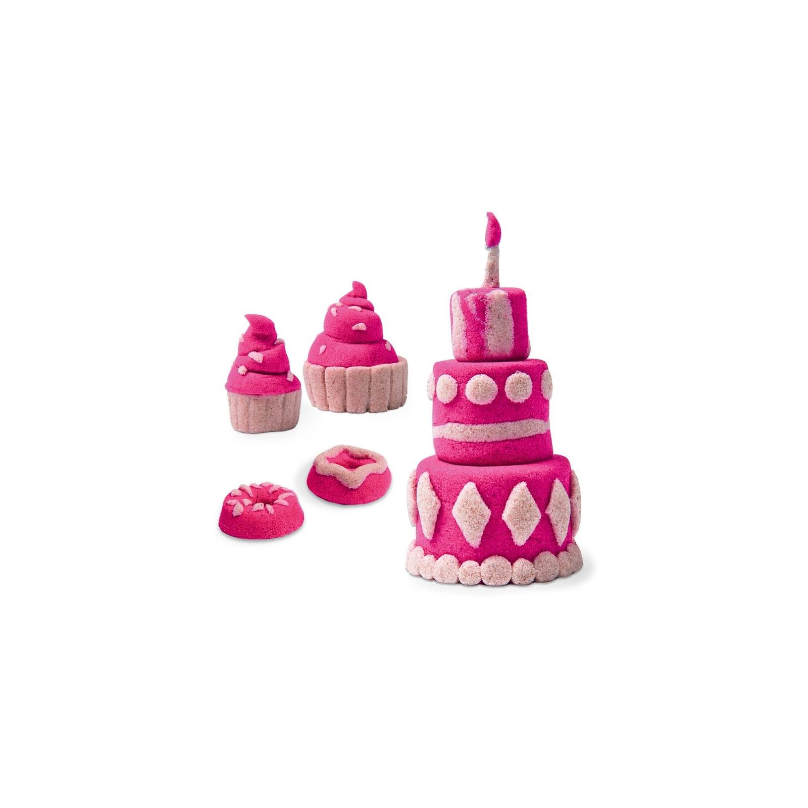Набор для творчества Wacky-Tivities Kinetic sand build белый, розовый (71428WPn) изображение 2