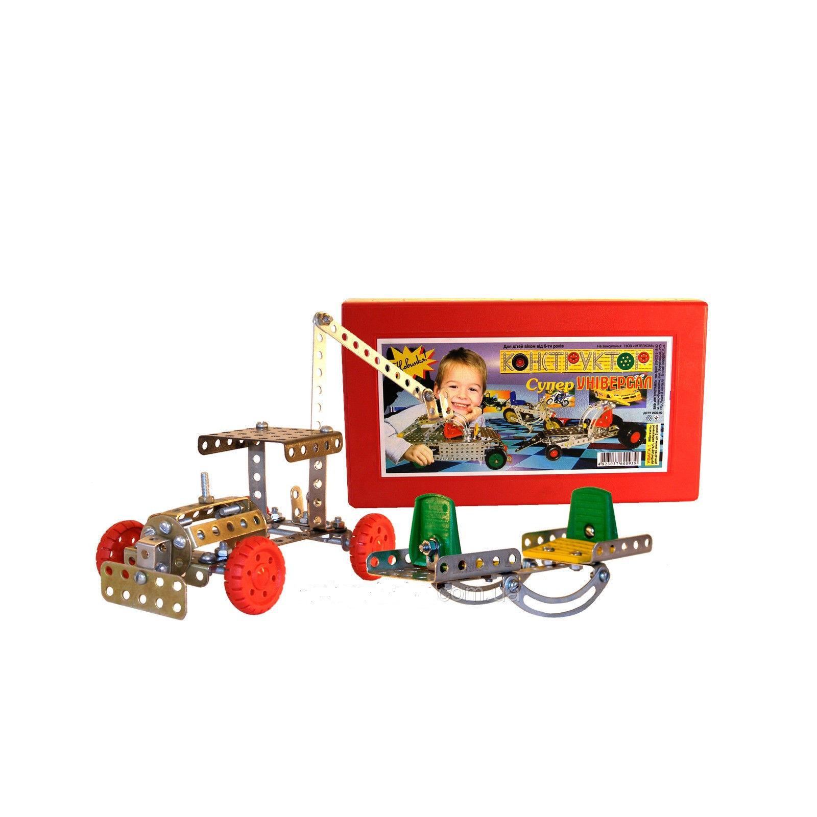 Конструктор Технок металлический Суперуниверсал (0939) изображение 3