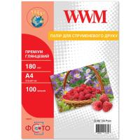 Бумага A4 Premium WWM (G180.100.Prem)