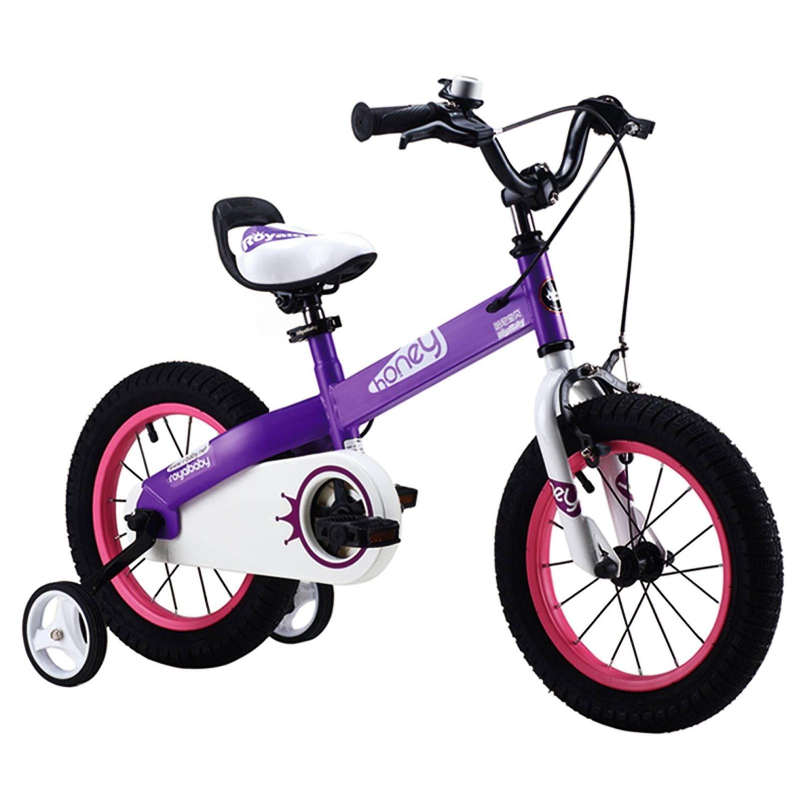 """Детский велосипед Royal Baby HONEY 16"""", фиолетовый (RB16-15H-PRL)"""