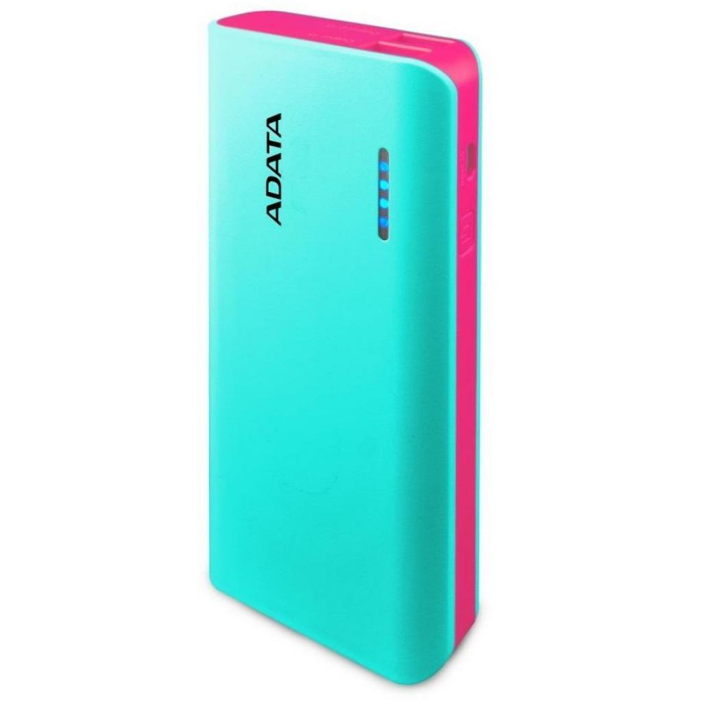 Батарея универсальная ADATA PT100 10000mAh Blue-Pink (APT100-10000M-5V-CTBPK)