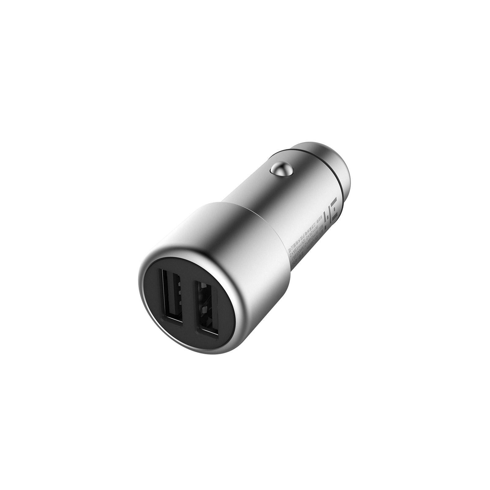 Зарядное устройство ZMI Car Charger Quick Charge 3.0 Silver (AP821) изображение 3