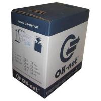 Кабель мережевий OK-Net FTP cat.5e LSOH, 305м (КПВонг-HFЭ-ВП (200) 4x2x0,51)