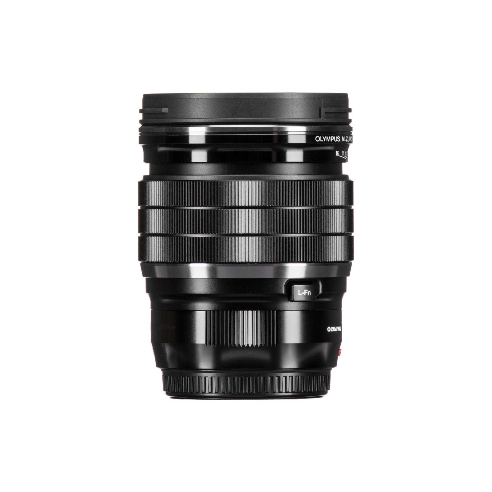 Объектив OLYMPUS EW-M1712 17mm 1:1.2 PRO Black (V311100BW000) изображение 10