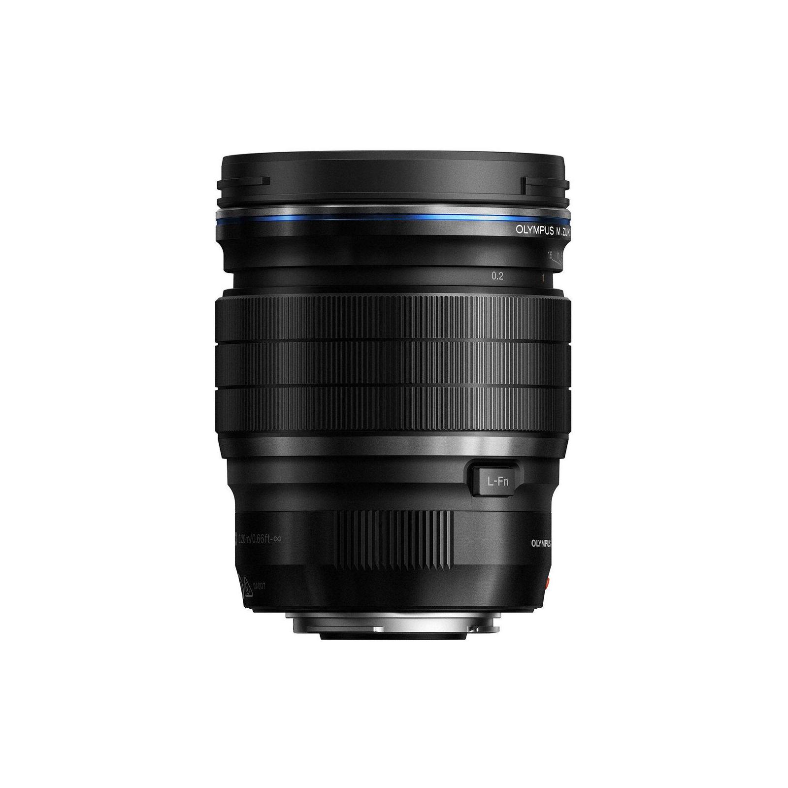 Объектив OLYMPUS EW-M1712 17mm 1:1.2 PRO Black (V311100BW000) изображение 2
