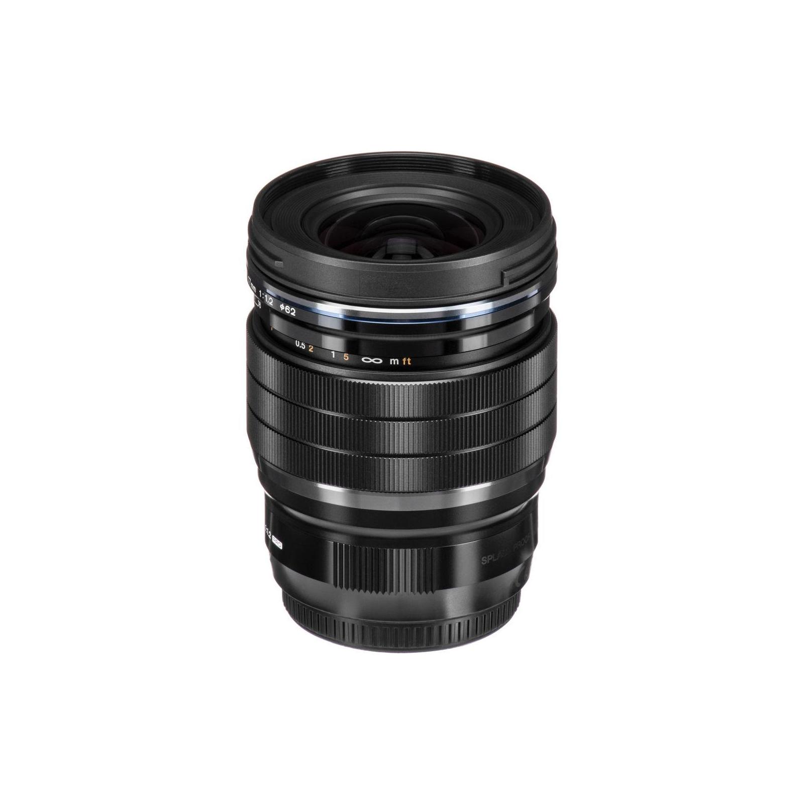 Объектив OLYMPUS EW-M1712 17mm 1:1.2 PRO Black (V311100BW000) изображение 4