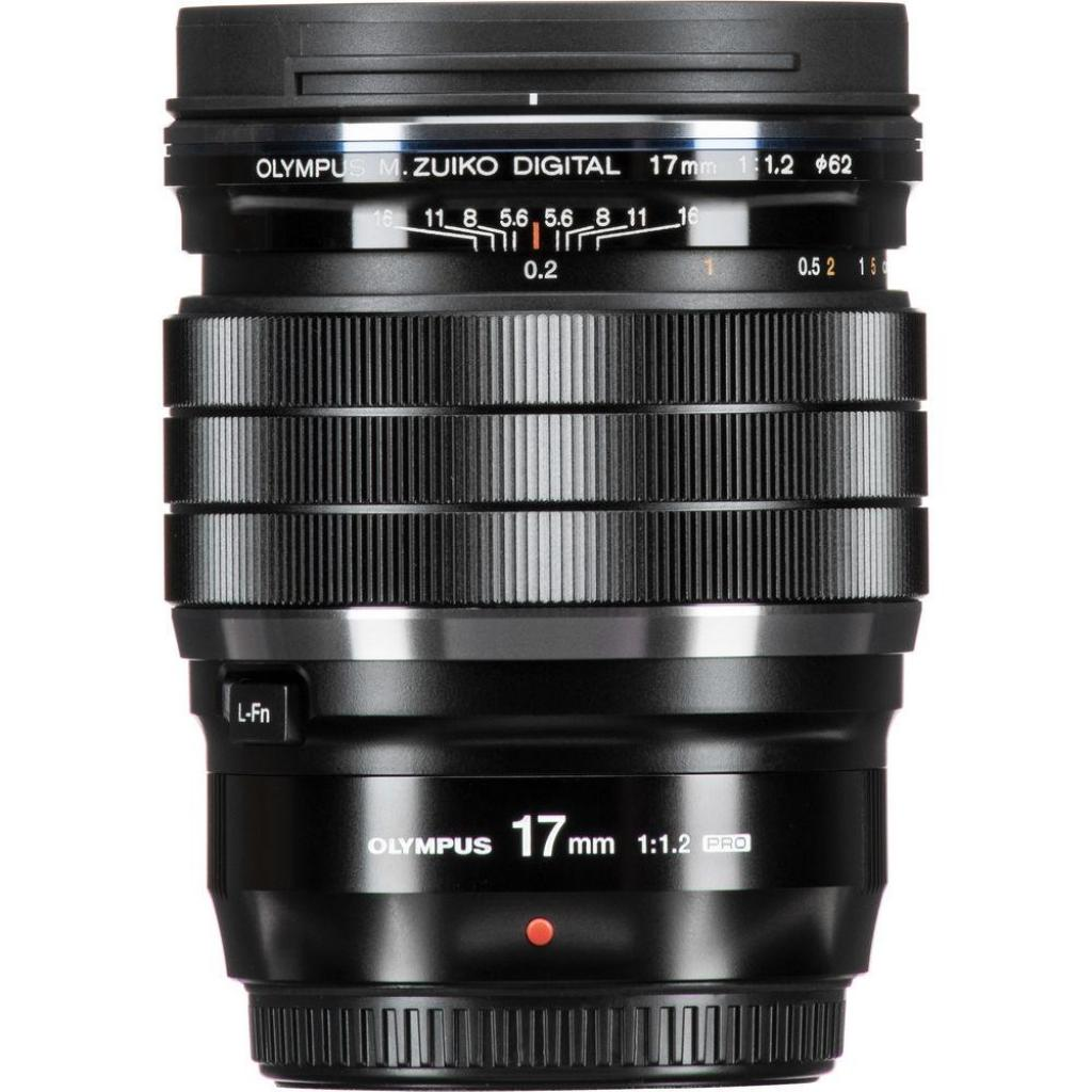 Объектив OLYMPUS EW-M1712 17mm 1:1.2 PRO Black (V311100BW000) изображение 7