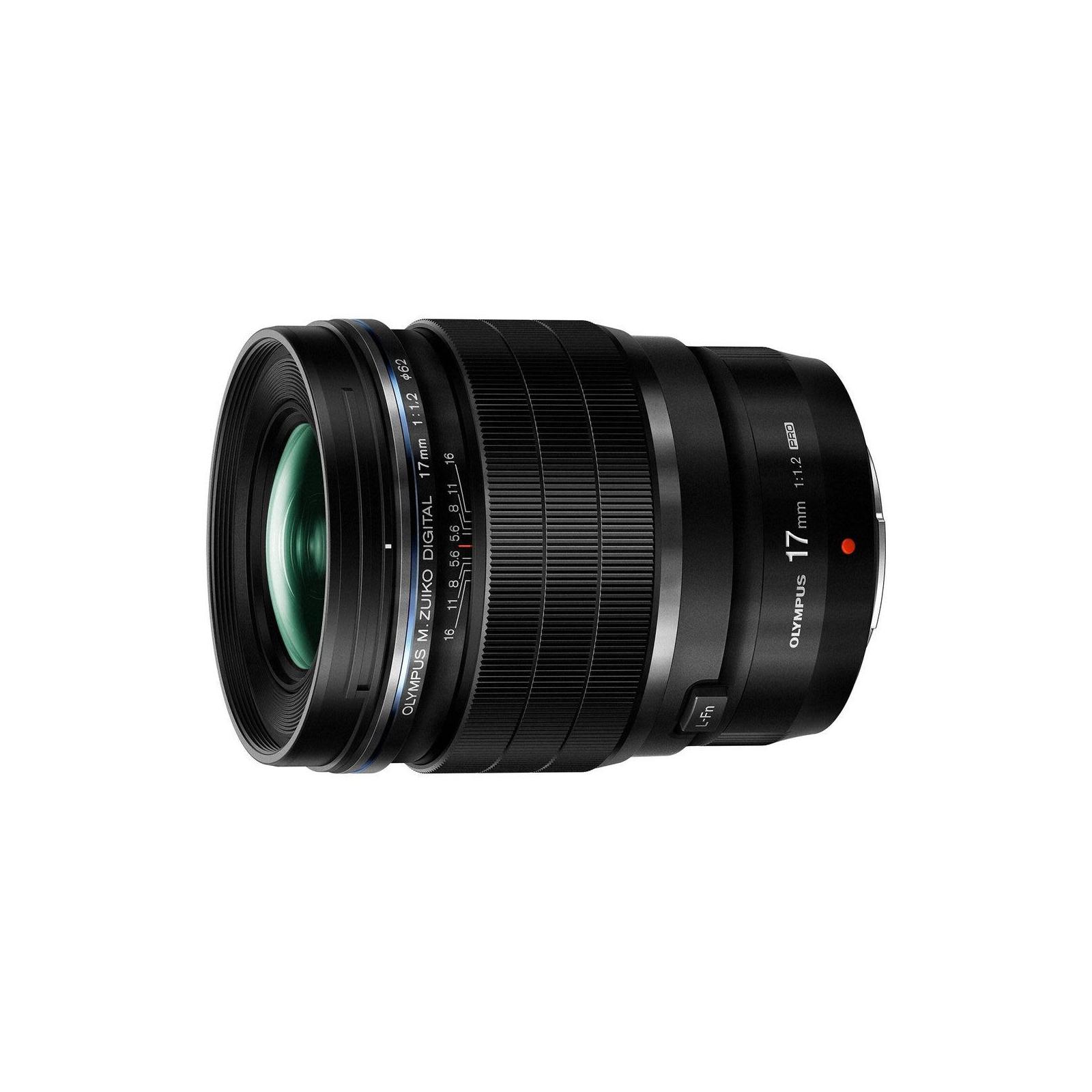Объектив OLYMPUS EW-M1712 17mm 1:1.2 PRO Black (V311100BW000)