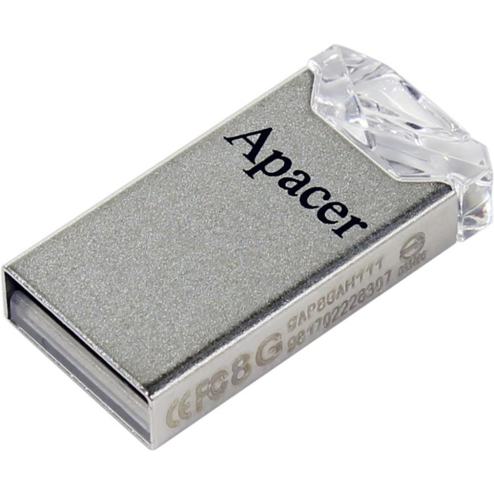 USB флеш накопитель Apacer 64GB AH111 Crystal USB 2.0 (AP64GAH111CR-1) изображение 2
