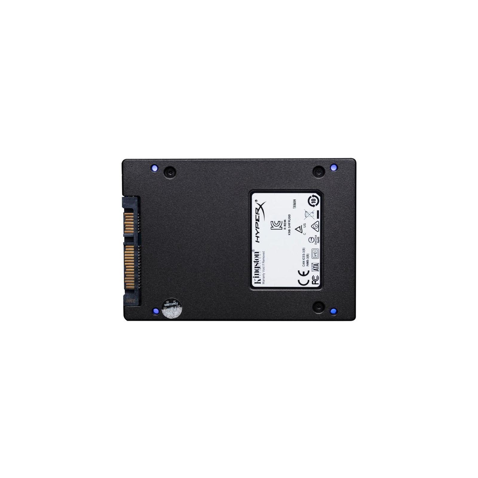 """Накопичувач SSD 2.5"""" 480GB HyperX SSD (SHFR200/480G) зображення 4"""