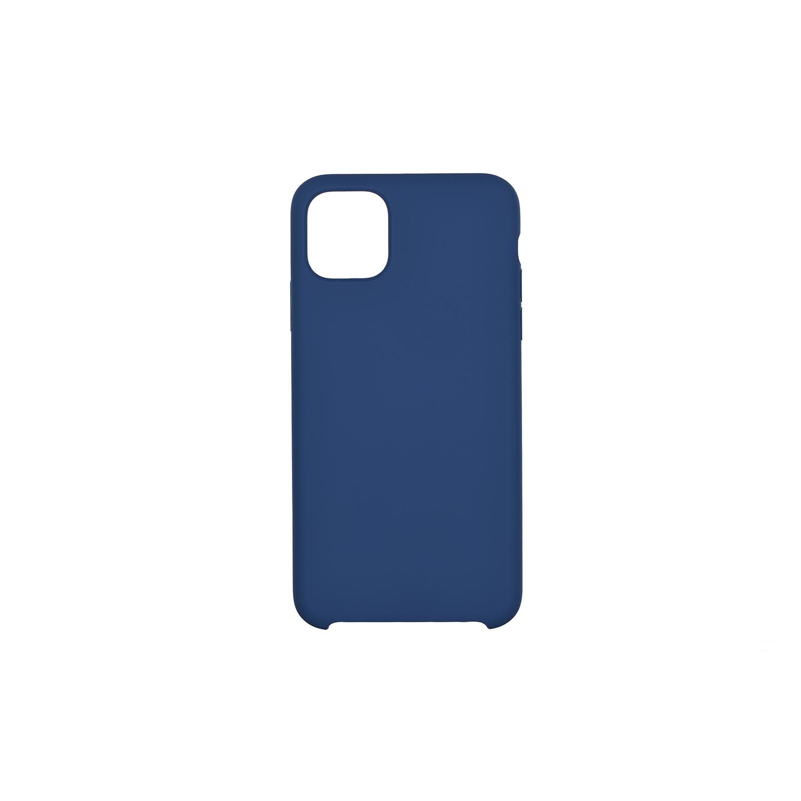 "Чехол для моб. телефона 2E Apple iPhone 11 (6.1""), Liquid Silicone, Navy (2E-IPH-11-OCLS-NV)"