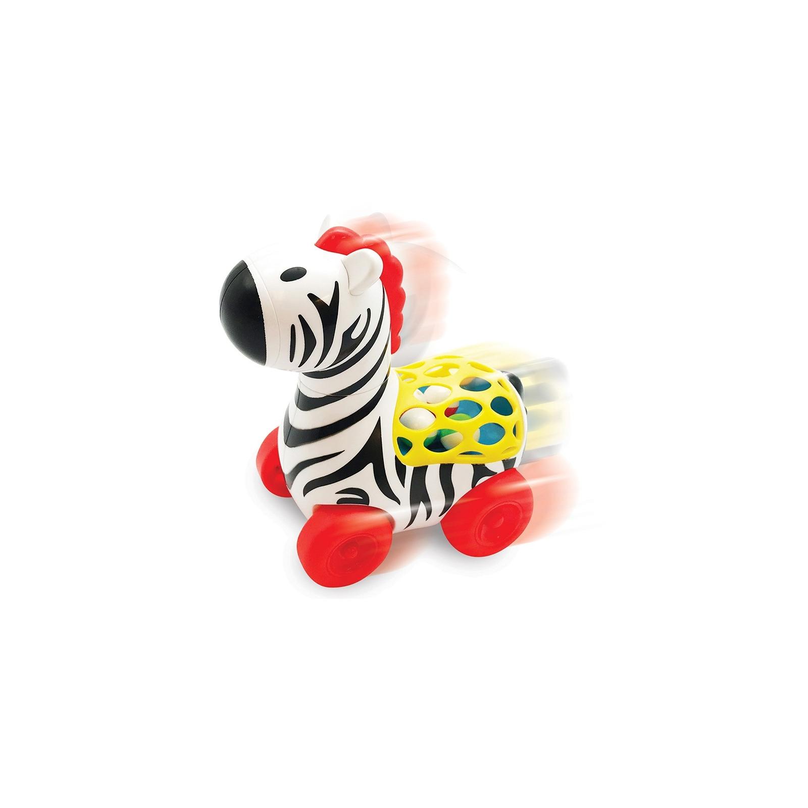 Развивающая игрушка Kiddieland Веселая зебра на колесах (056812)