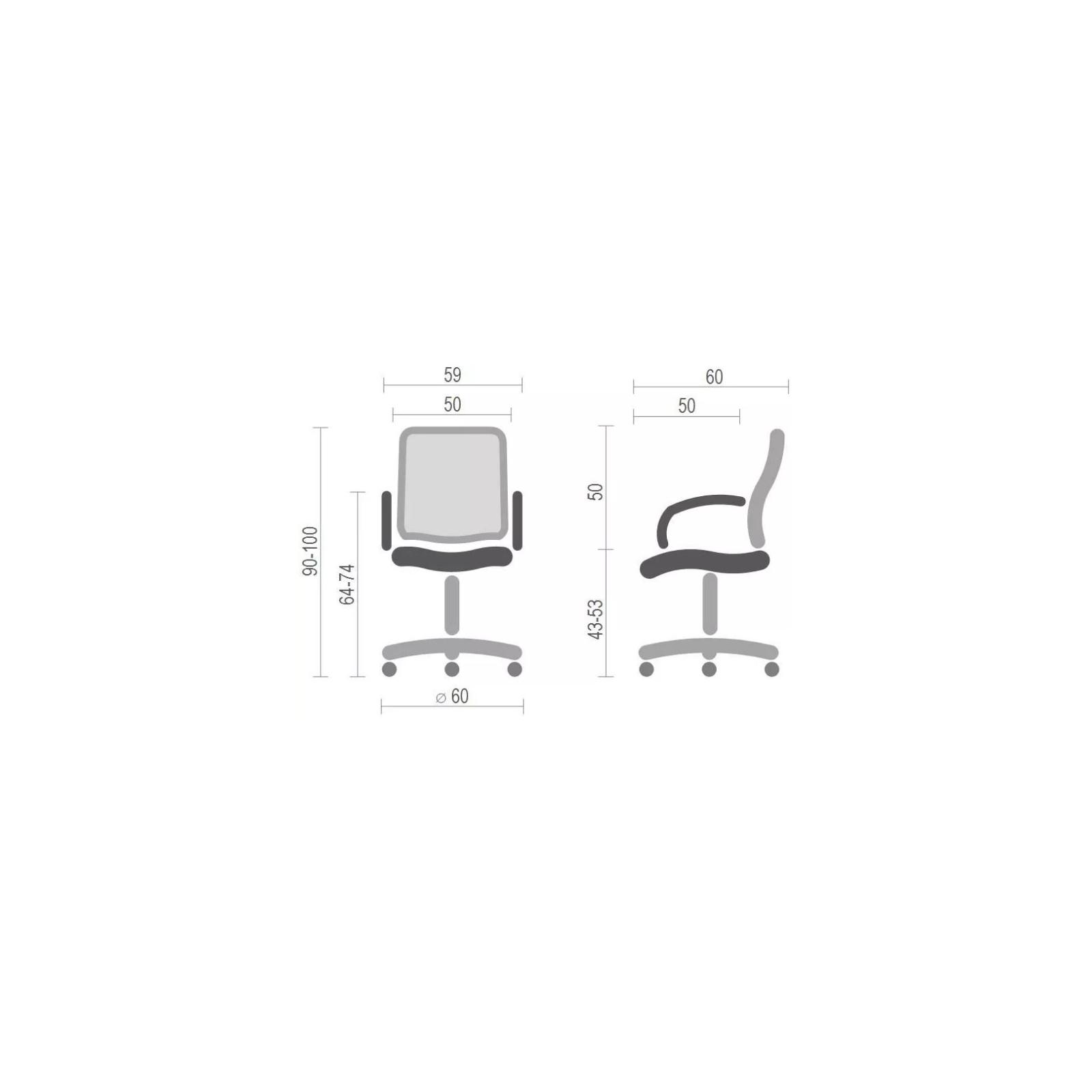 Офисное кресло Аклас Стром W CH TILT Черное (12759) изображение 6