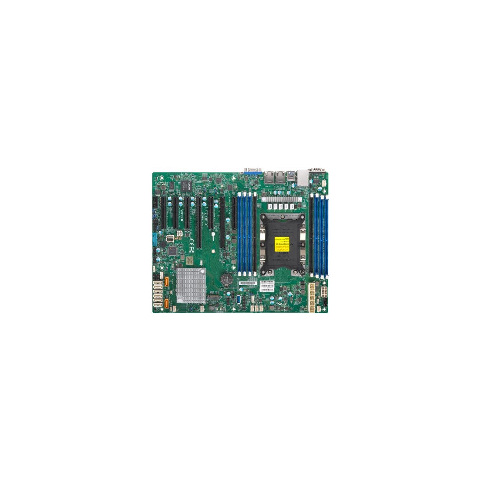 Серверная материнская плата Supermicro X11SPL-F-O