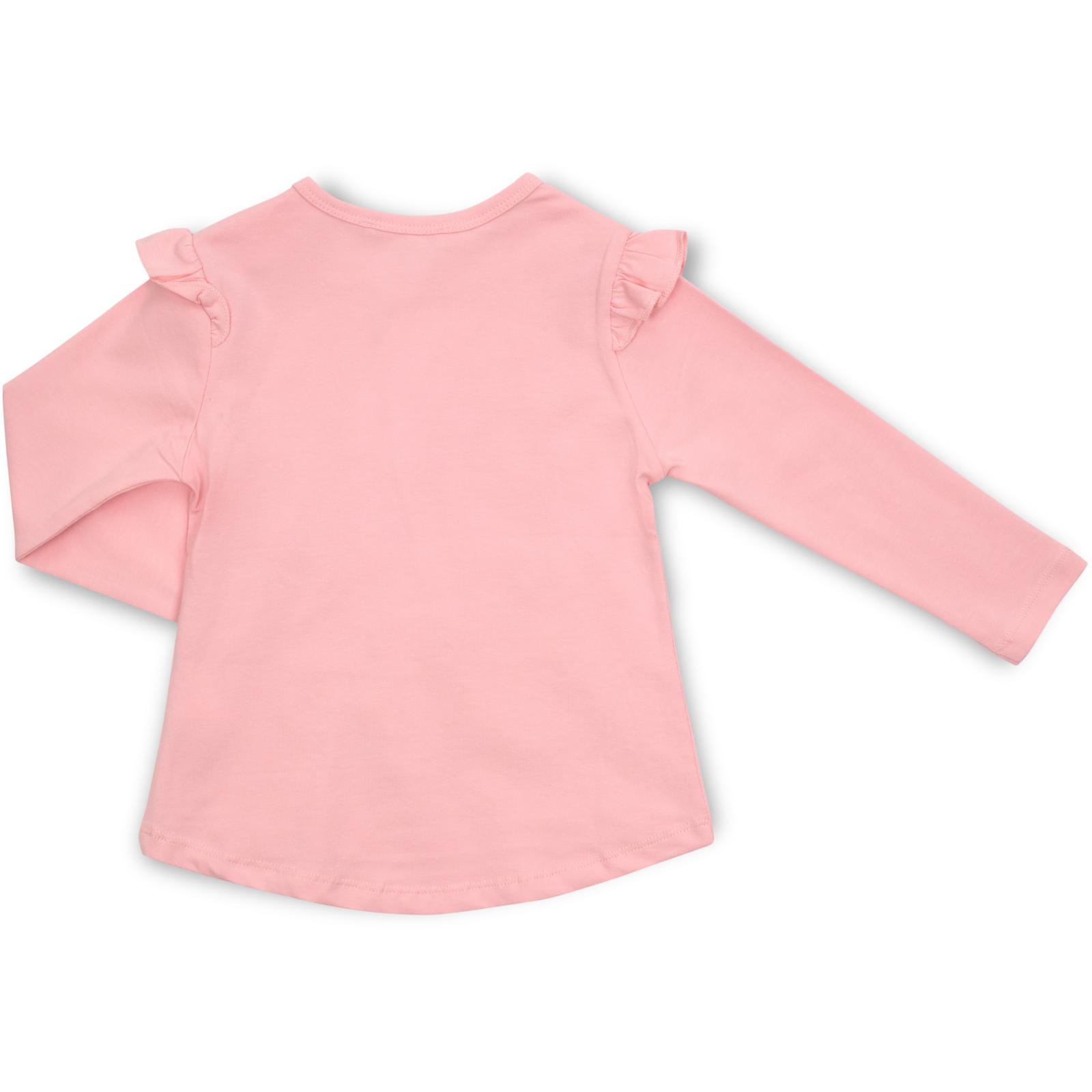 Набор детской одежды Breeze с зайчиком в цветах (13299-92G-pink) изображение 5