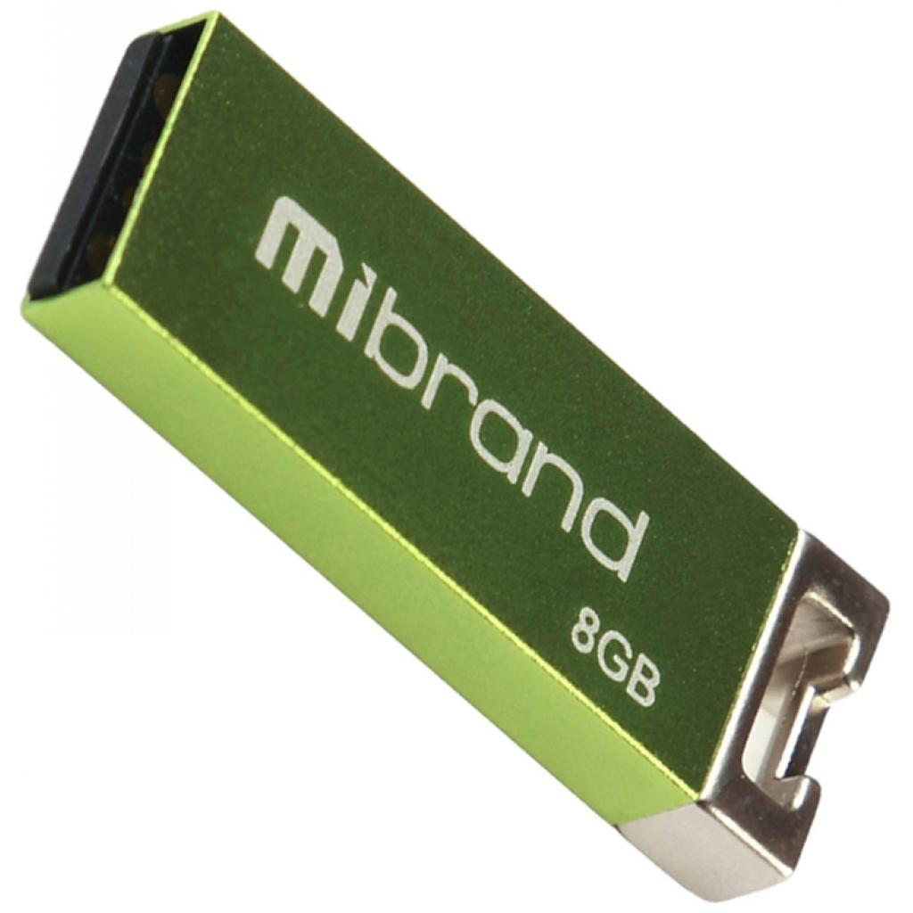 USB флеш накопитель Mibrand 8GB Сhameleon Light Green USB 2.0 (MI2.0/CH8U6LG)