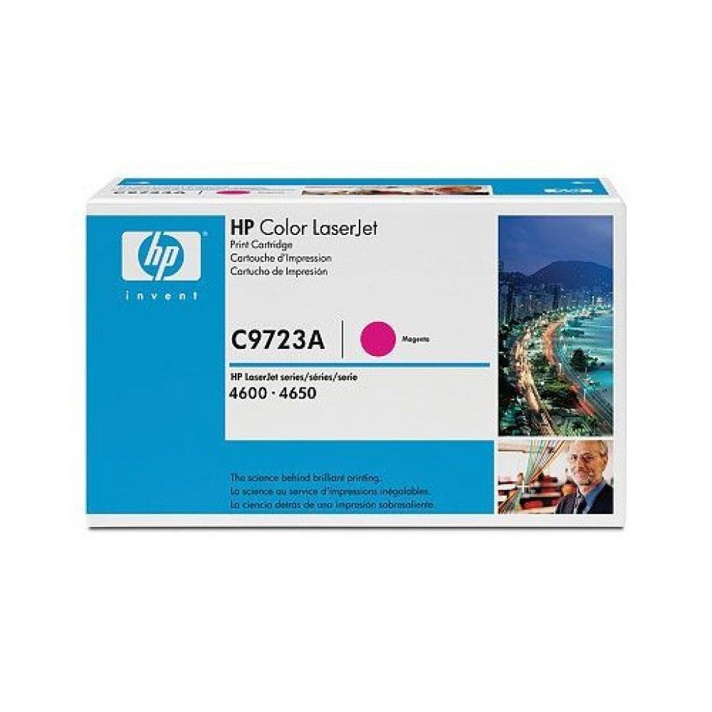 Картридж CLJ4600 magenta HP (C9723A)