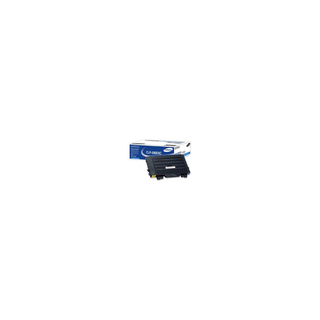 Картридж CLP-500, cyan, 5000стр. Samsung (CLP-500D5C)