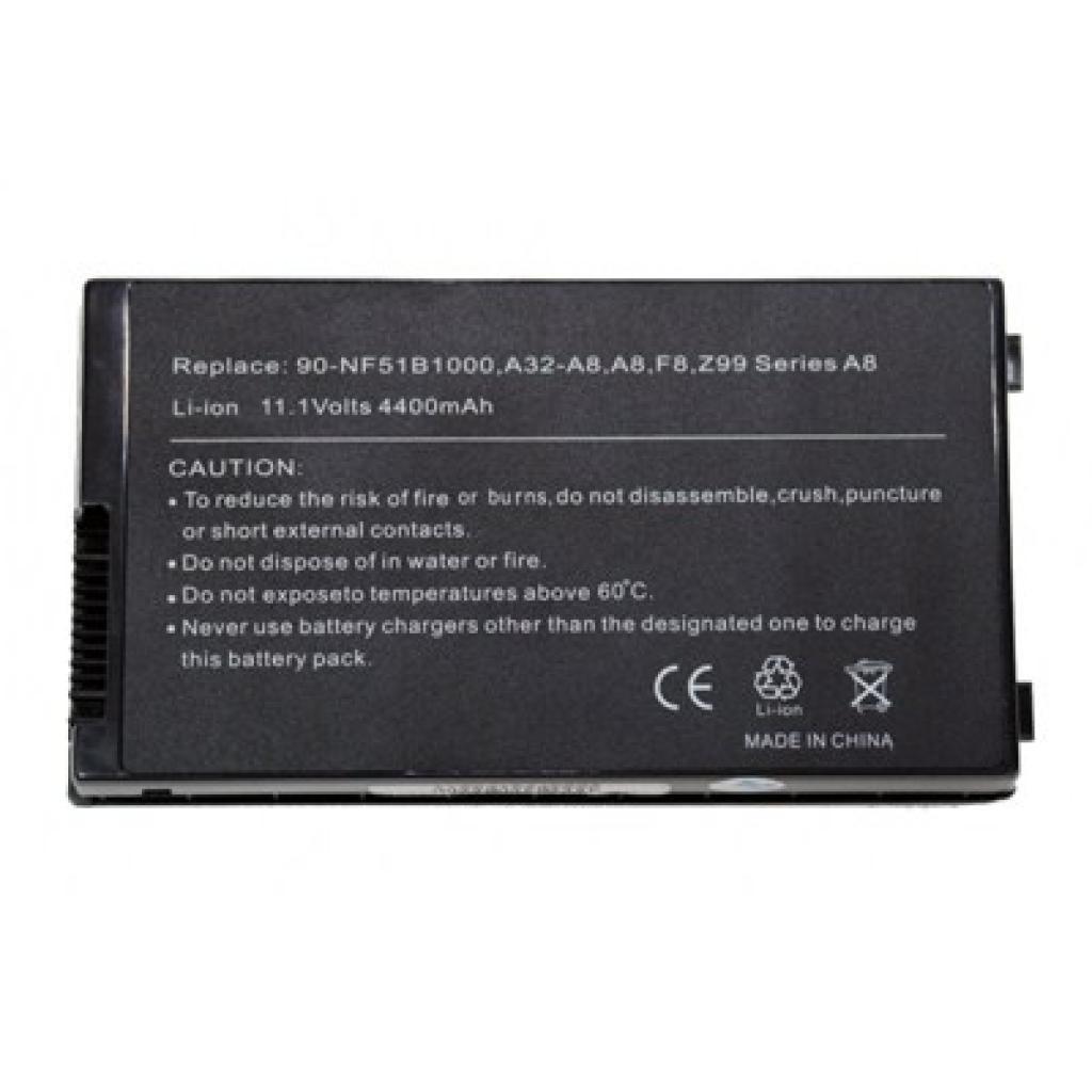 Аккумулятор для ноутбука ASUS A32-A8 Drobak (100384)