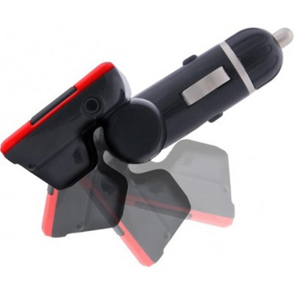 Автомобильный MP3-FM модулятор Grand-X CUFM22GRX red SD/USB (CUFM22GRX red) изображение 4