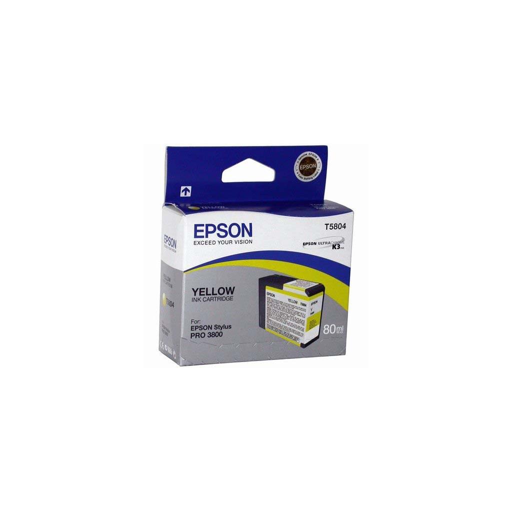 Картридж EPSON St Pro 3800 yellow (C13T580400)