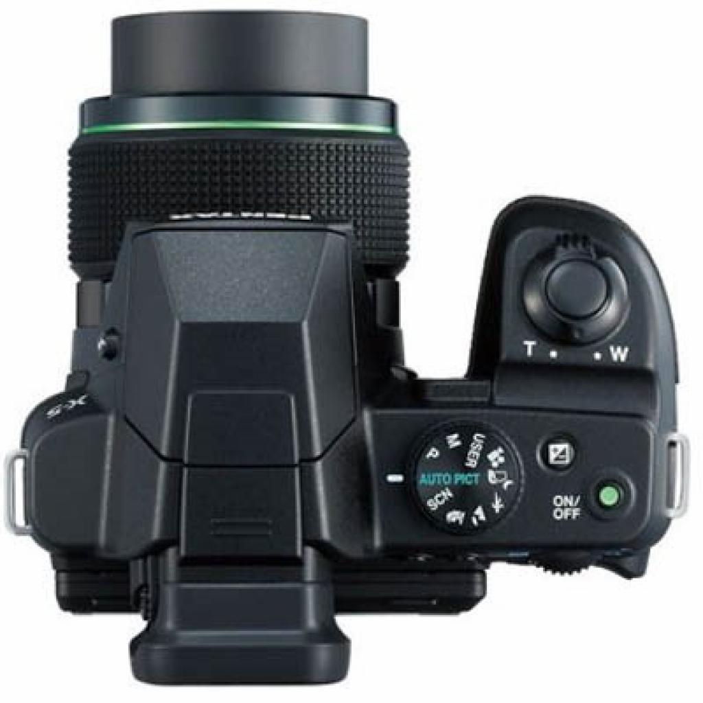 Цифровой фотоаппарат Pentax Optio X-5 black (12762) изображение 3