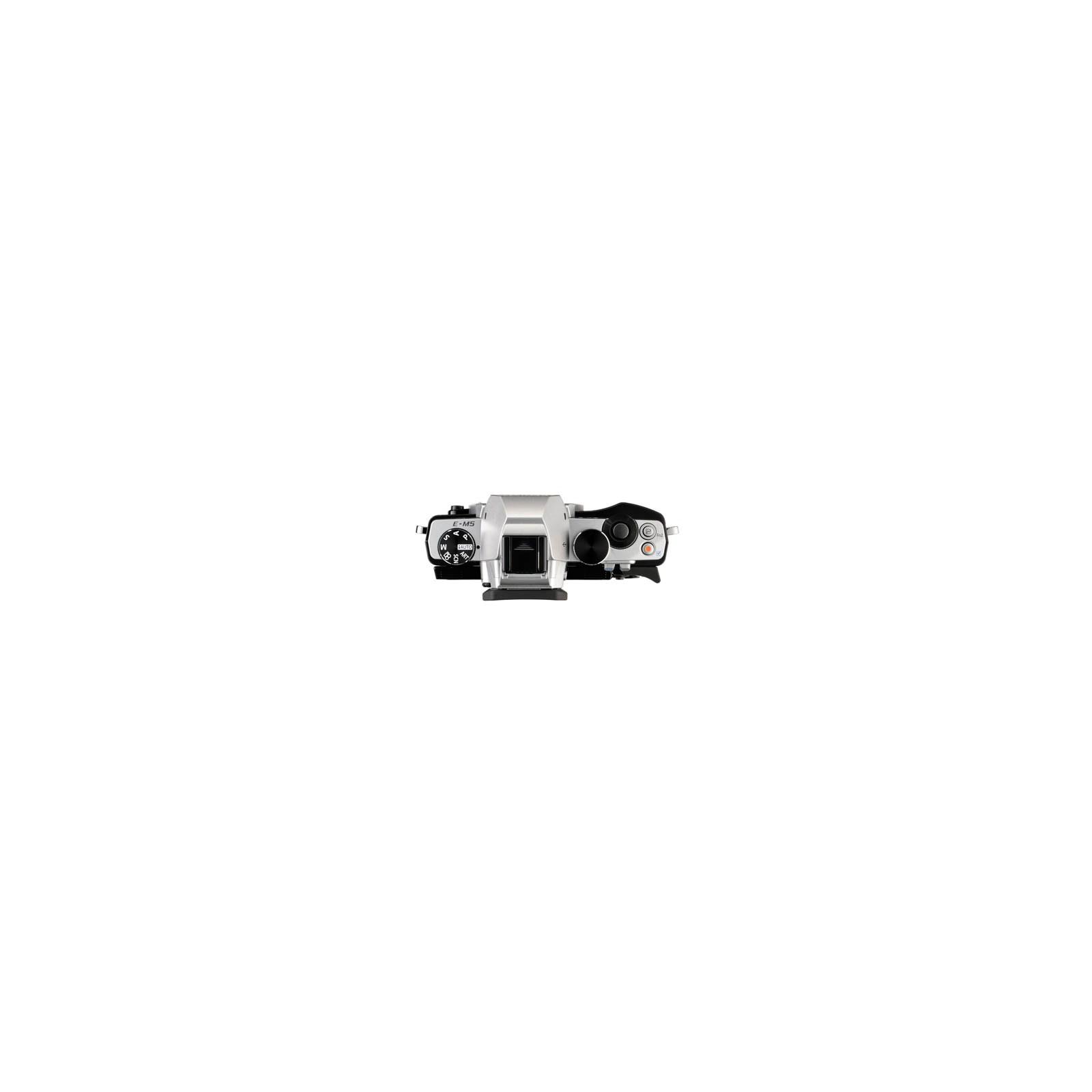 Цифровой фотоаппарат OLYMPUS OM-D E-M5 body silver (V204040SE000) изображение 3