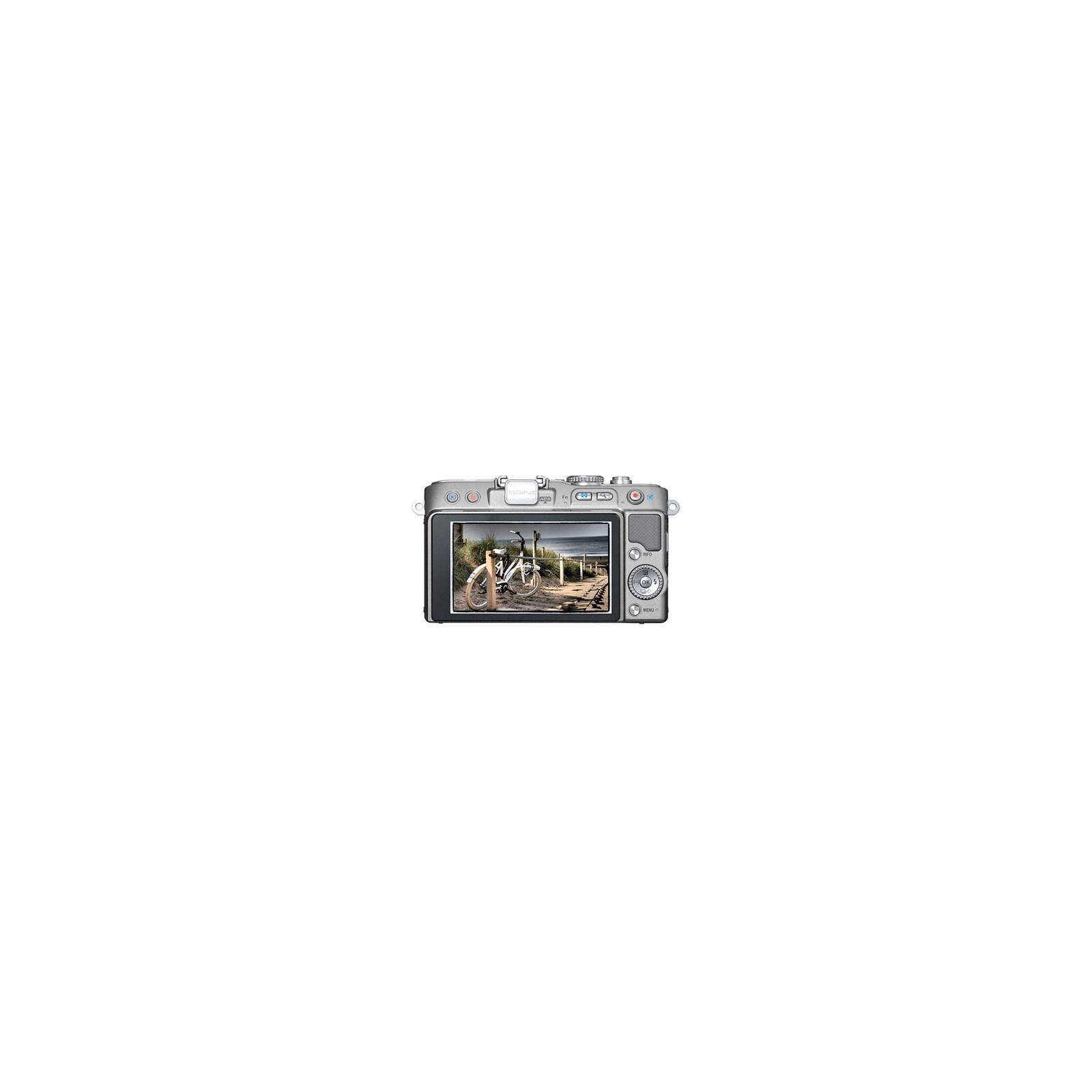 Цифровой фотоаппарат OLYMPUS PEN E-PL3 14-42 mm kit silver/silver (V20503BSE000/V205031SE000) изображение 2