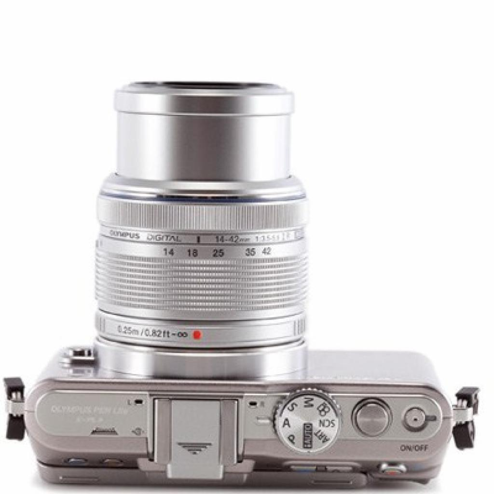 Цифровой фотоаппарат OLYMPUS PEN E-PL3 14-42 mm kit silver/silver (V20503BSE000/V205031SE000) изображение 3