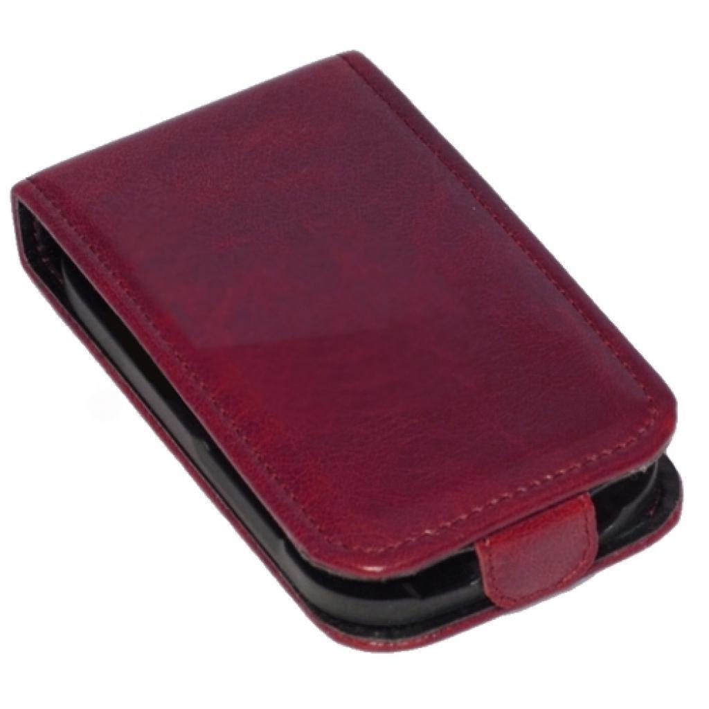 Чехол для моб. телефона KeepUp для HTC Desire V (T328w) Cherry/FLIP (00-00005887) изображение 3