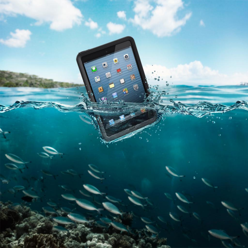 Чехол для планшета Belkin iPad mini LIFEPROOF Fre Black (1406-01) изображение 9
