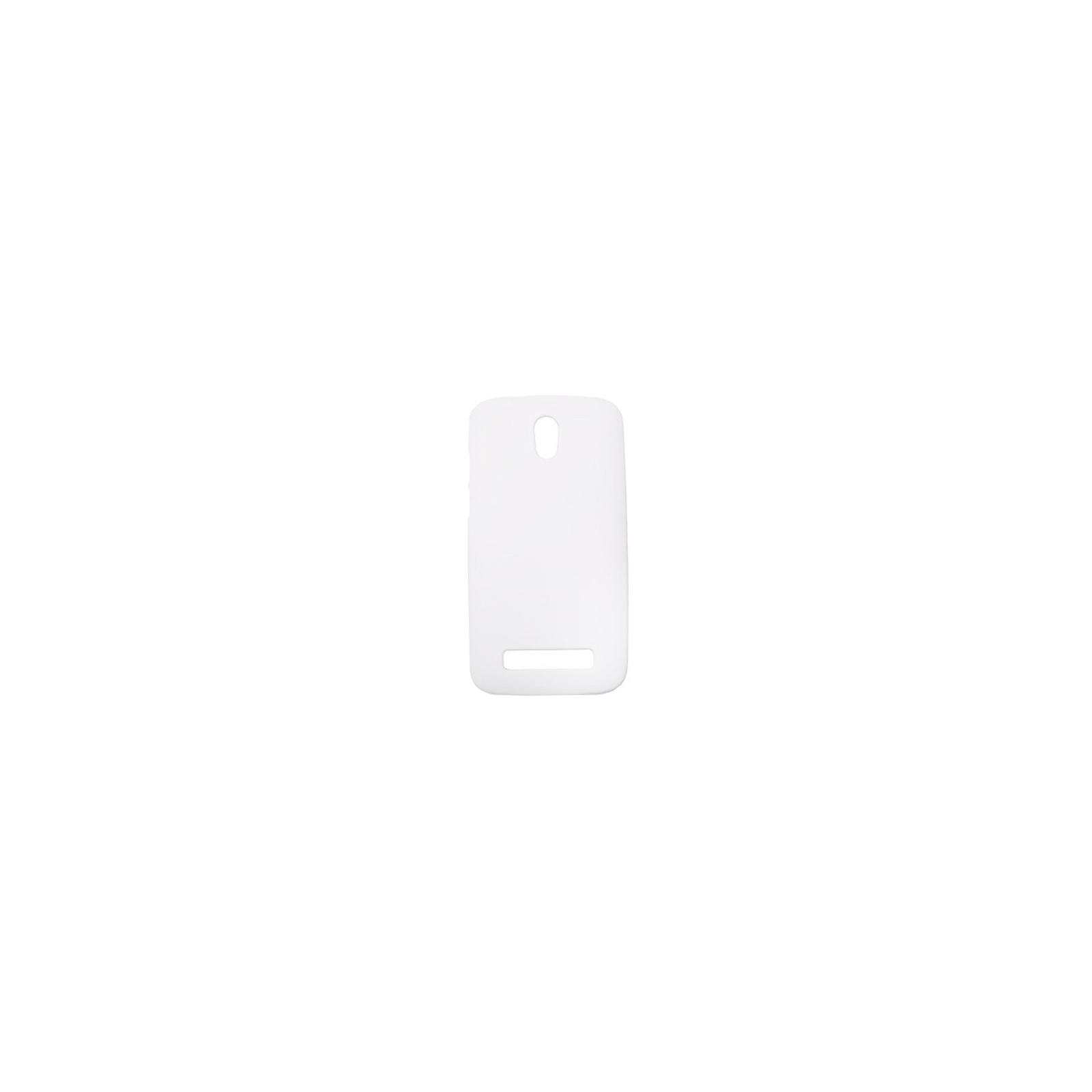 Чехол для моб. телефона Drobak для HTC Desire 500 /ElasticPU/White (218864)