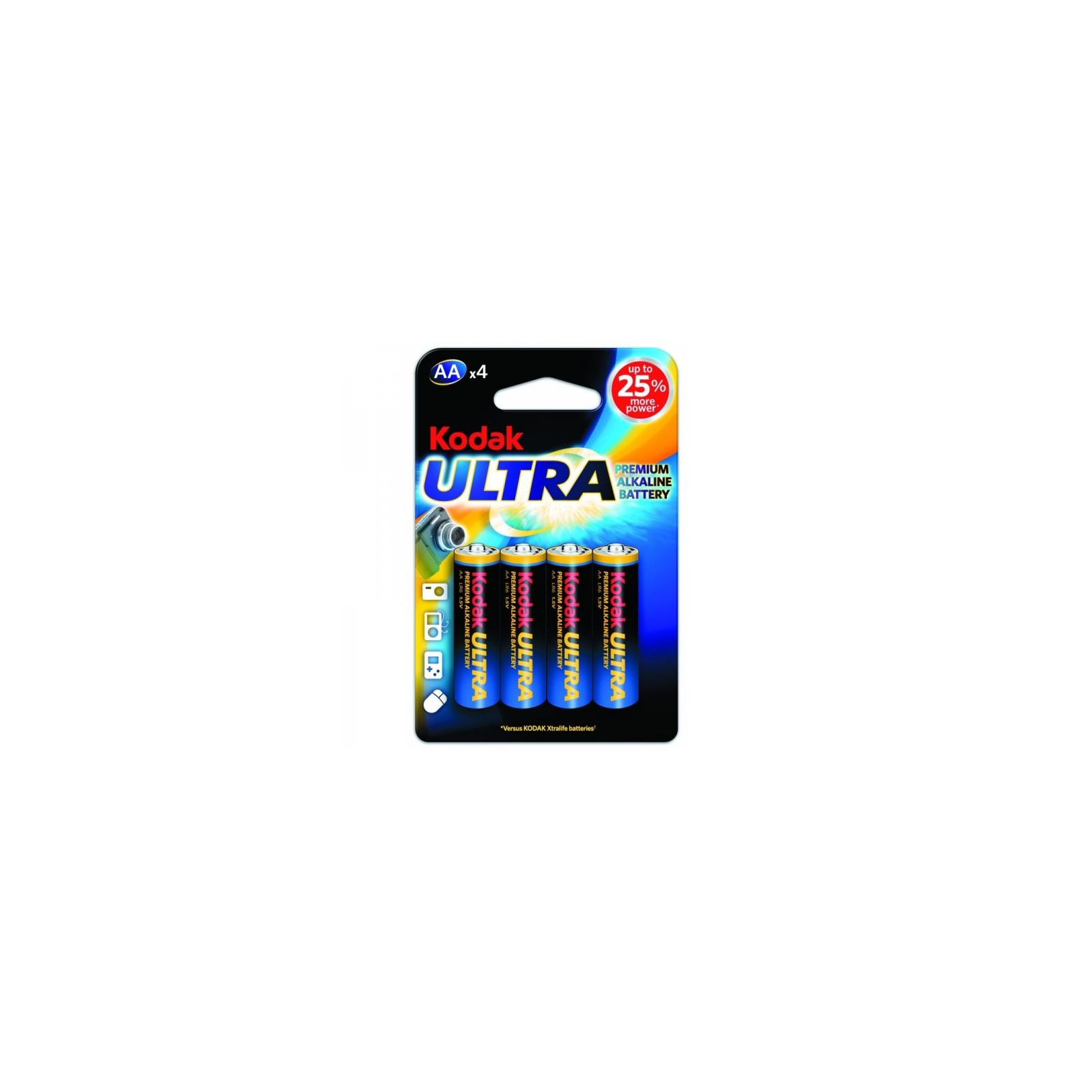 Батарейка Kodak LR06 KODAK Ultra Premium * 4 (30959514)