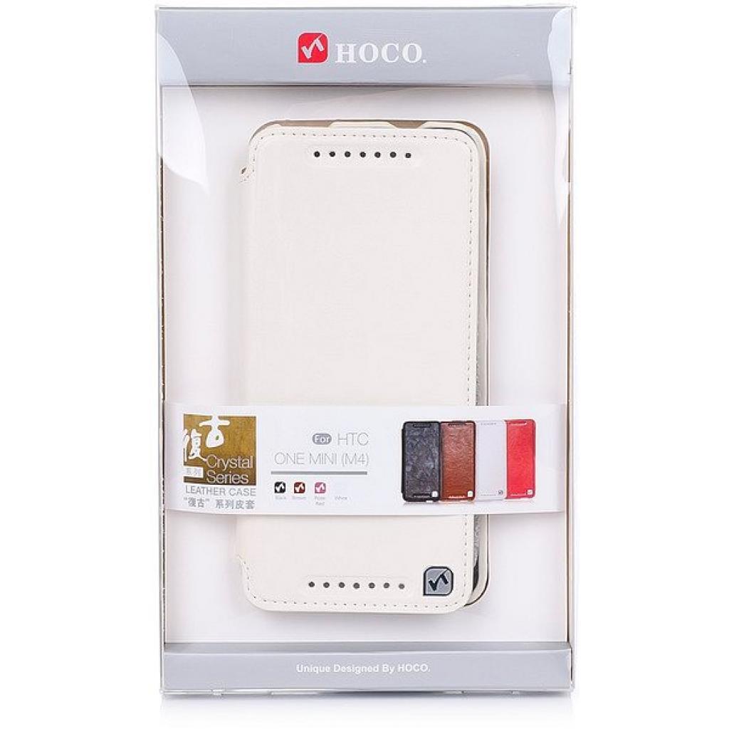 Чехол для моб. телефона HOCO для HTC ONE Mini /Crystal (HT-L012 White)