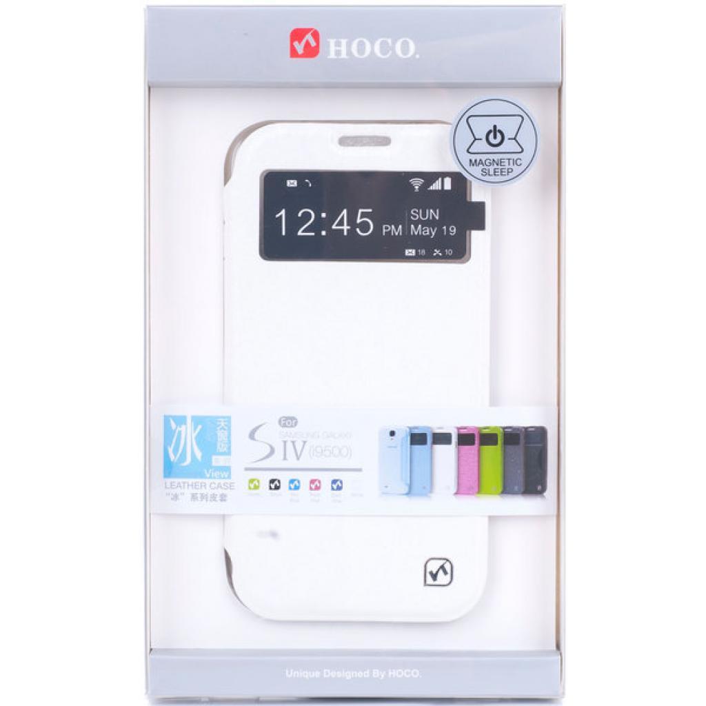 Чехол для моб. телефона HOCO для Samsung I9500 Galaxy S4 /View (HS-L039 White)