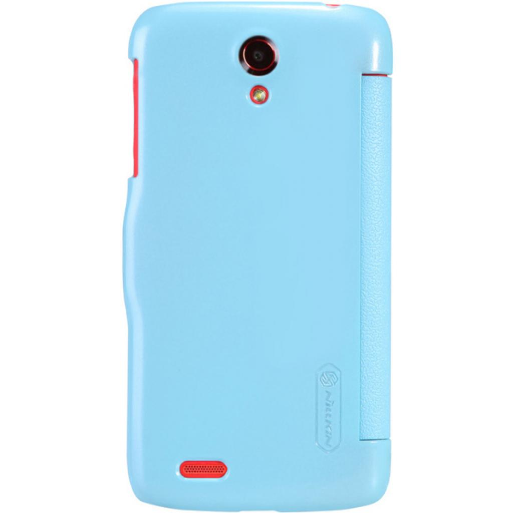 Чехол для моб. телефона NILLKIN для Lenovo S820 /Fresh/ Leather/Blue (6076866) изображение 2
