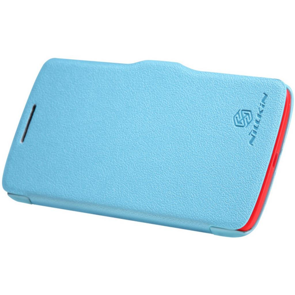 Чехол для моб. телефона NILLKIN для Lenovo S820 /Fresh/ Leather/Blue (6076866) изображение 3