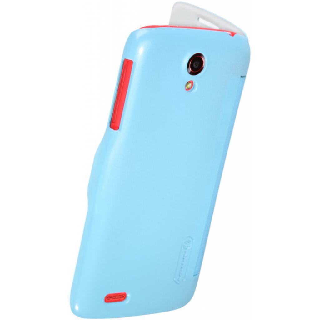 Чехол для моб. телефона NILLKIN для Lenovo S820 /Fresh/ Leather/Blue (6076866) изображение 4