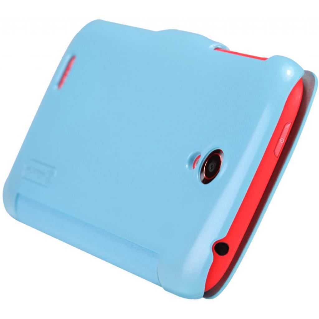 Чехол для моб. телефона NILLKIN для Lenovo S820 /Fresh/ Leather/Blue (6076866) изображение 5