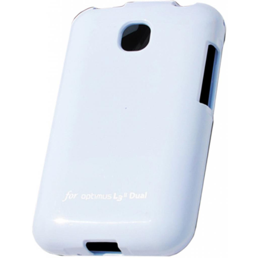 Чехол для моб. телефона VOIA для LG E435 Optimus L3II Dual /Jelly/White (6068167)